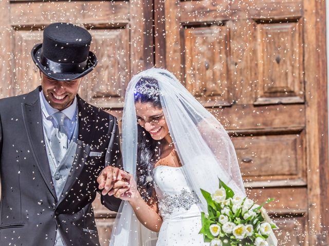 Il matrimonio di Roberto e Silvia a Introd, Aosta 1