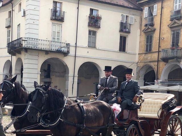 Il matrimonio di Costantino  e Elvira  a Venaria Reale, Torino 13