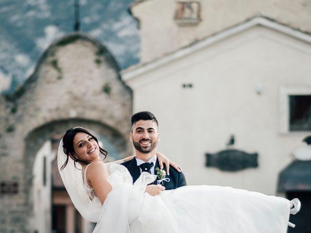 Il matrimonio di Davide e Francesca a Tocco da Casauria, Pescara 19
