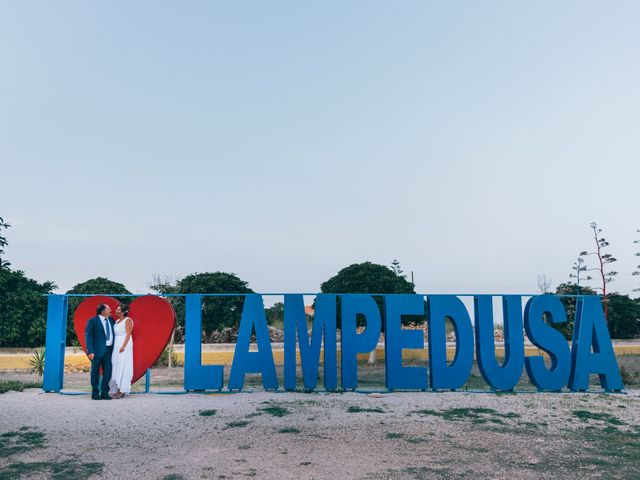 Il matrimonio di Gerlando e Letizia a Lampedusa e Linosa, Agrigento 1