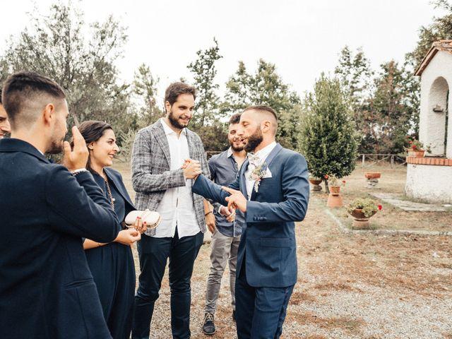 Il matrimonio di Daniele e Sara a Montespertoli, Firenze 36