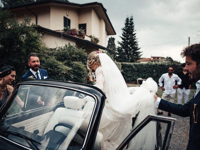 Il matrimonio di Daniele e Sara a Montespertoli, Firenze 43