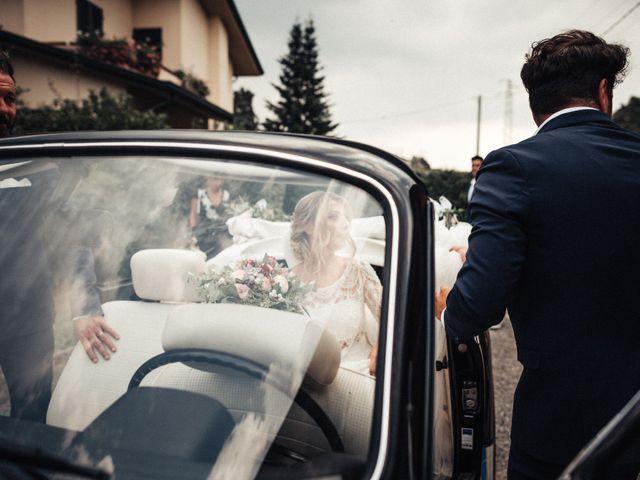 Il matrimonio di Daniele e Sara a Montespertoli, Firenze 44