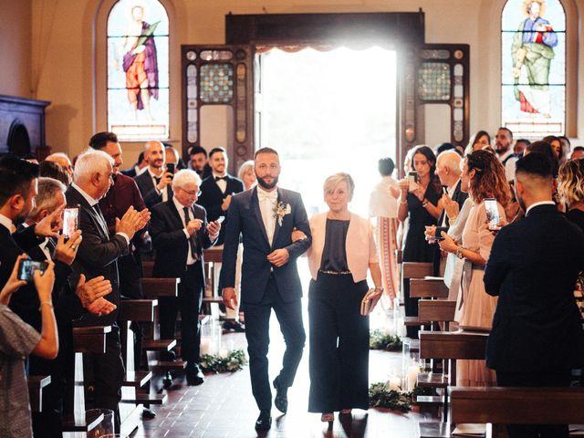 Il matrimonio di Daniele e Sara a Montespertoli, Firenze 50