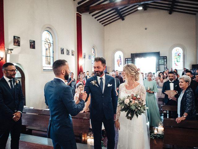 Il matrimonio di Daniele e Sara a Montespertoli, Firenze 60