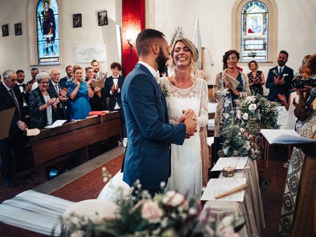 Il matrimonio di Daniele e Sara a Montespertoli, Firenze 63