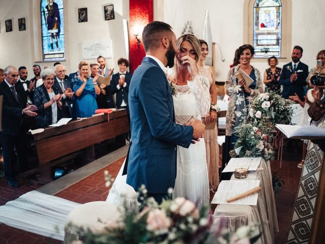 Il matrimonio di Daniele e Sara a Montespertoli, Firenze 64
