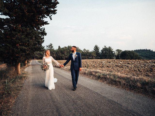 Il matrimonio di Daniele e Sara a Montespertoli, Firenze 79