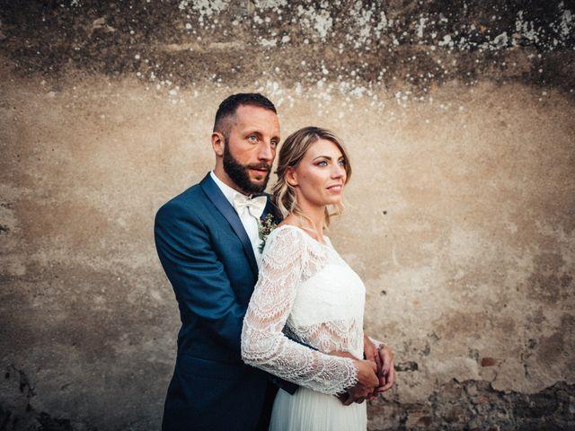 Il matrimonio di Daniele e Sara a Montespertoli, Firenze 1