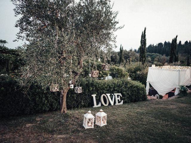 Il matrimonio di Daniele e Sara a Montespertoli, Firenze 83