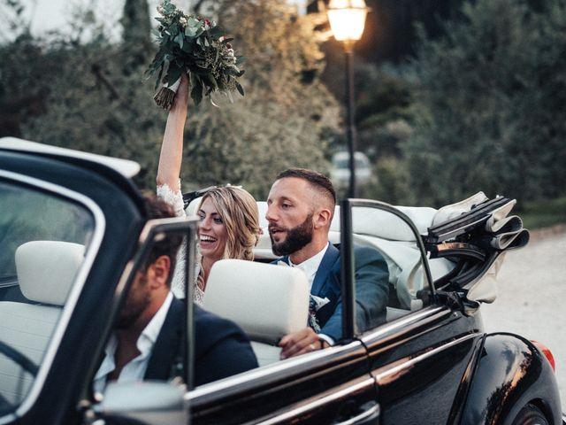Il matrimonio di Daniele e Sara a Montespertoli, Firenze 85