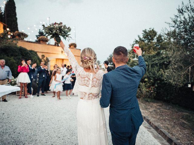 Il matrimonio di Daniele e Sara a Montespertoli, Firenze 87