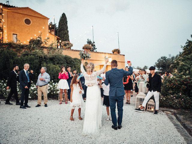 Il matrimonio di Daniele e Sara a Montespertoli, Firenze 88