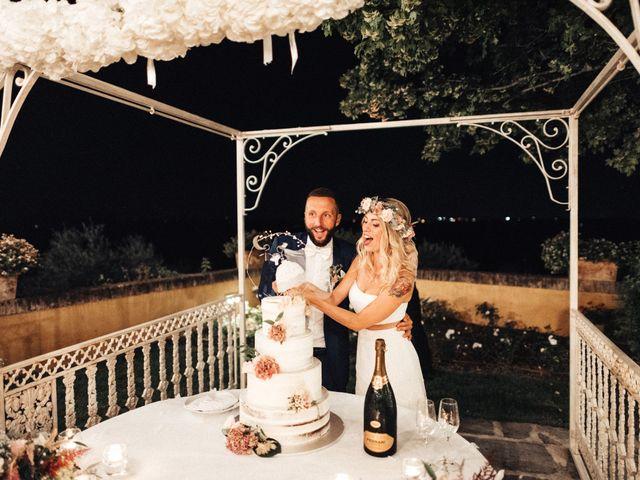 Il matrimonio di Daniele e Sara a Montespertoli, Firenze 110
