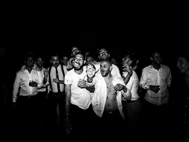 Il matrimonio di Daniele e Sara a Montespertoli, Firenze 132