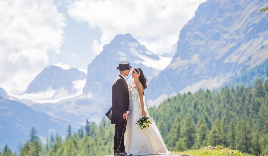 Il matrimonio di Roberto e Silvia a Introd, Aosta