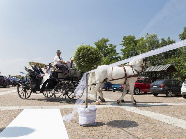 Il matrimonio di Andrea e Angela a Lombardore, Torino 43