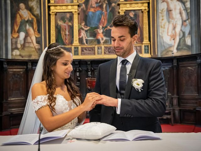 Il matrimonio di Simone e Sara a Legnano, Milano 24