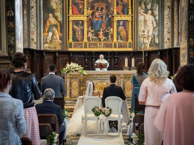 Il matrimonio di Simone e Sara a Legnano, Milano 25