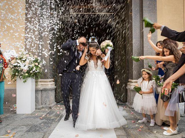 Il matrimonio di Simone e Sara a Legnano, Milano 32