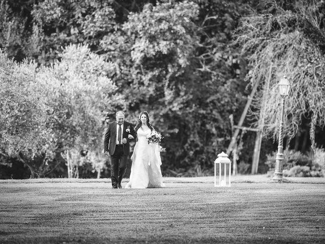 Il matrimonio di Davide e Ilenia a Canale Monterano, Roma 11