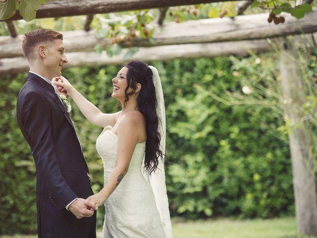 Il matrimonio di Davide e Ilenia a Canale Monterano, Roma 22