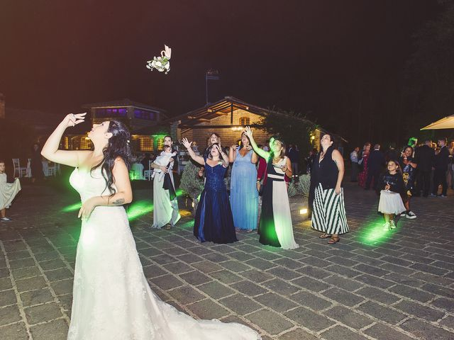 Il matrimonio di Davide e Ilenia a Canale Monterano, Roma 26