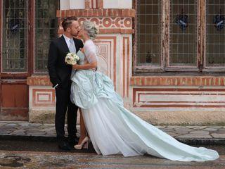 Le nozze di Chiara e Mitchell