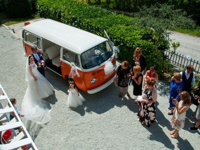 Il matrimonio di Marco e Ilaria a Tolentino, Macerata 11