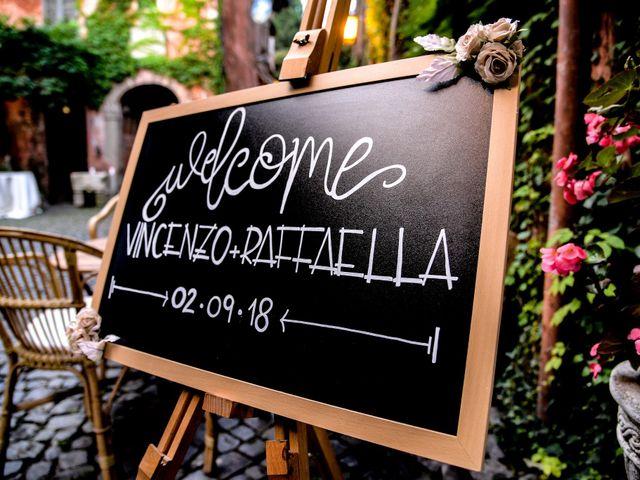 Il matrimonio di Vincenzo e Raffaella a Grottaferrata, Roma 16