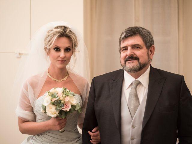 Il matrimonio di Mitchell e Chiara a Albavilla, Como 5