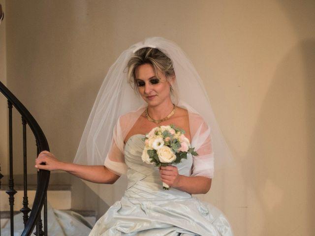Il matrimonio di Mitchell e Chiara a Albavilla, Como 7