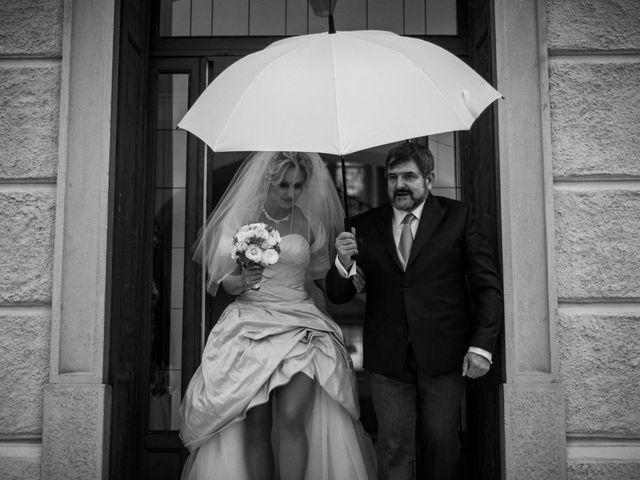 Il matrimonio di Mitchell e Chiara a Albavilla, Como 8
