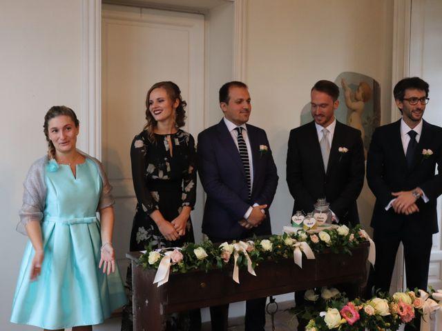 Il matrimonio di Mitchell e Chiara a Albavilla, Como 9