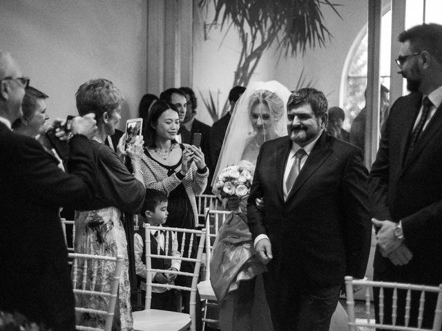 Il matrimonio di Mitchell e Chiara a Albavilla, Como 12