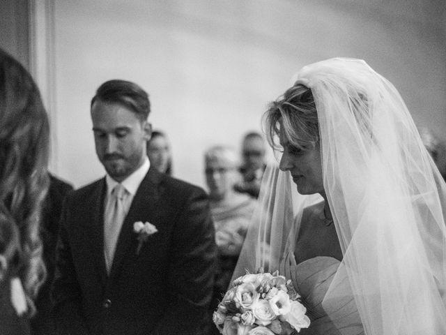 Il matrimonio di Mitchell e Chiara a Albavilla, Como 13