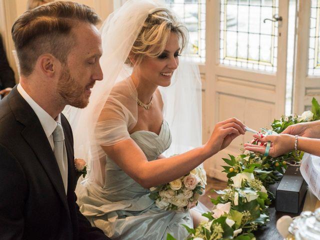 Il matrimonio di Mitchell e Chiara a Albavilla, Como 14