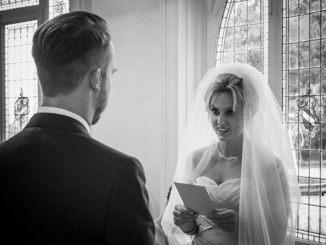 Il matrimonio di Mitchell e Chiara a Albavilla, Como 15