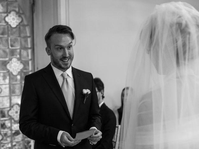 Il matrimonio di Mitchell e Chiara a Albavilla, Como 17