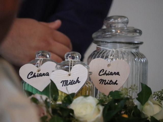 Il matrimonio di Mitchell e Chiara a Albavilla, Como 20