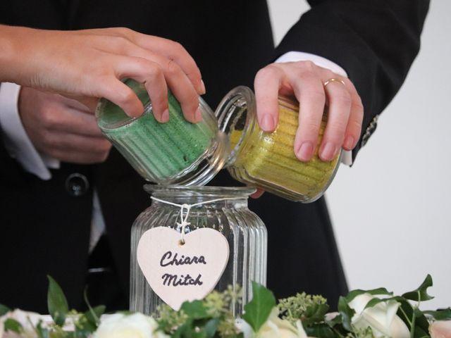 Il matrimonio di Mitchell e Chiara a Albavilla, Como 21