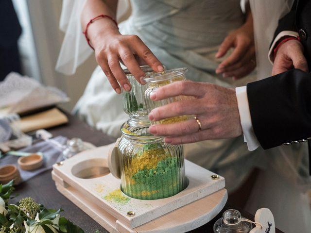 Il matrimonio di Mitchell e Chiara a Albavilla, Como 22