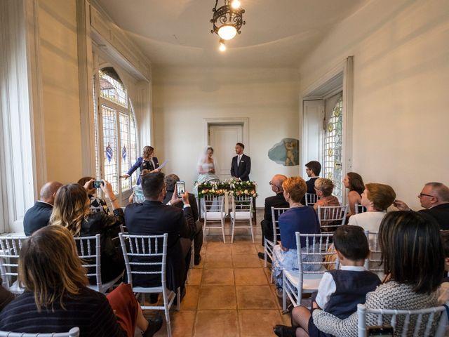 Il matrimonio di Mitchell e Chiara a Albavilla, Como 23