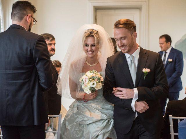 Il matrimonio di Mitchell e Chiara a Albavilla, Como 25