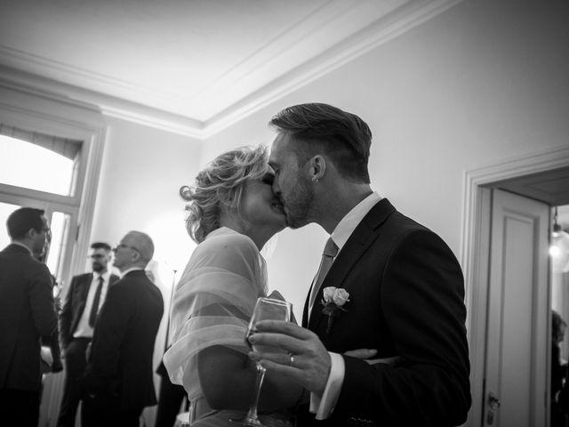 Il matrimonio di Mitchell e Chiara a Albavilla, Como 30