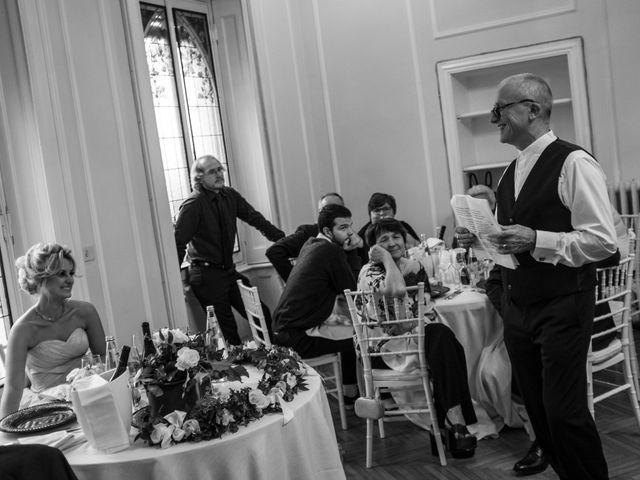 Il matrimonio di Mitchell e Chiara a Albavilla, Como 37