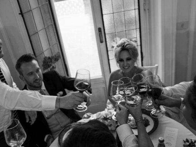 Il matrimonio di Mitchell e Chiara a Albavilla, Como 40