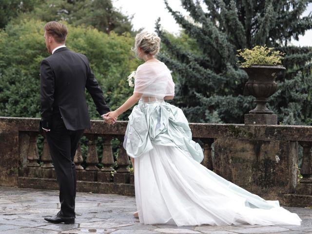 Il matrimonio di Mitchell e Chiara a Albavilla, Como 47