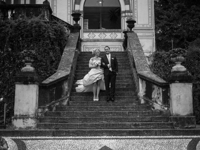 Il matrimonio di Mitchell e Chiara a Albavilla, Como 48