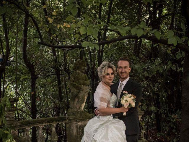 Il matrimonio di Mitchell e Chiara a Albavilla, Como 52